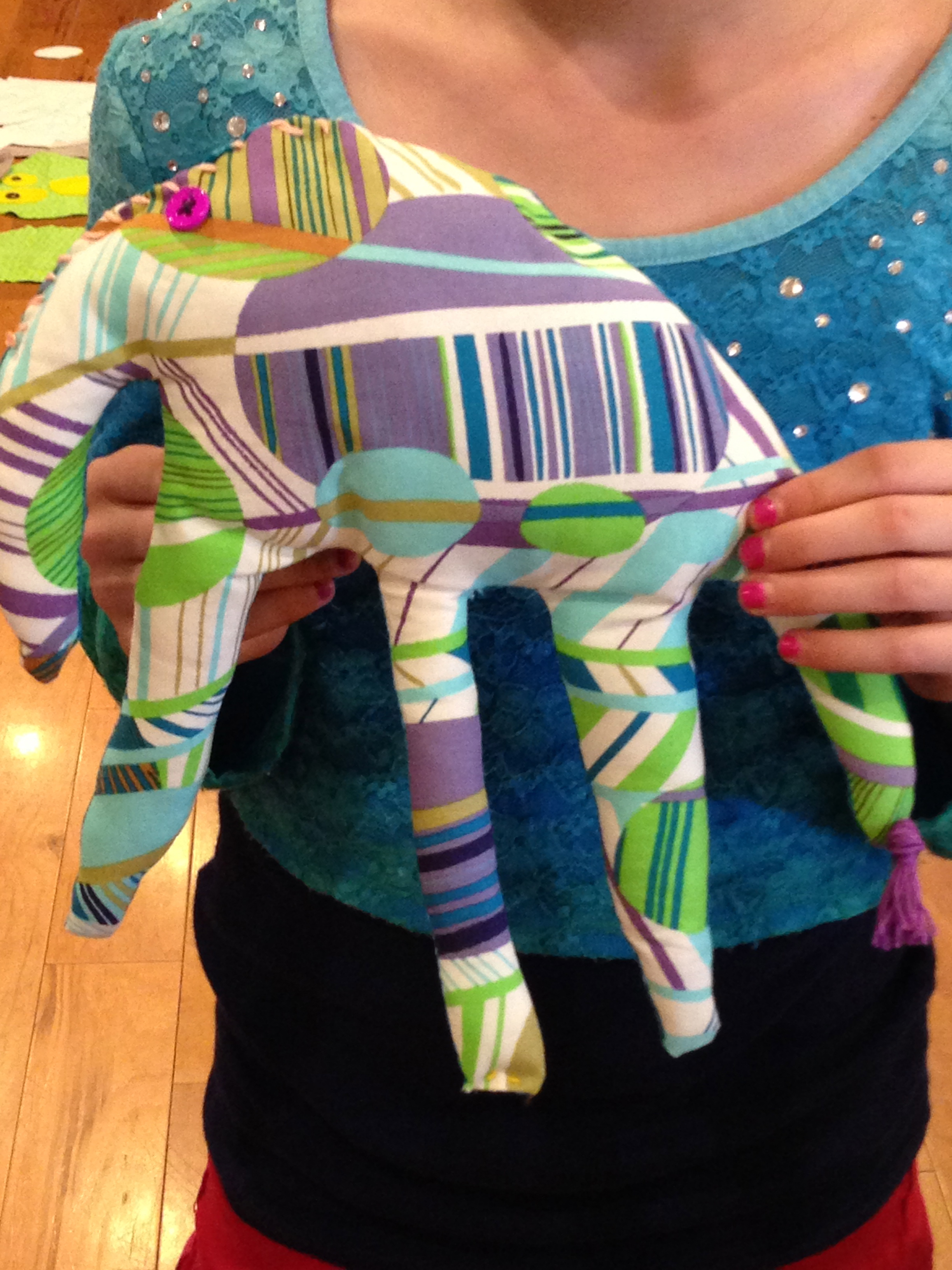 "5th Grade ""Hand"" Elephant"