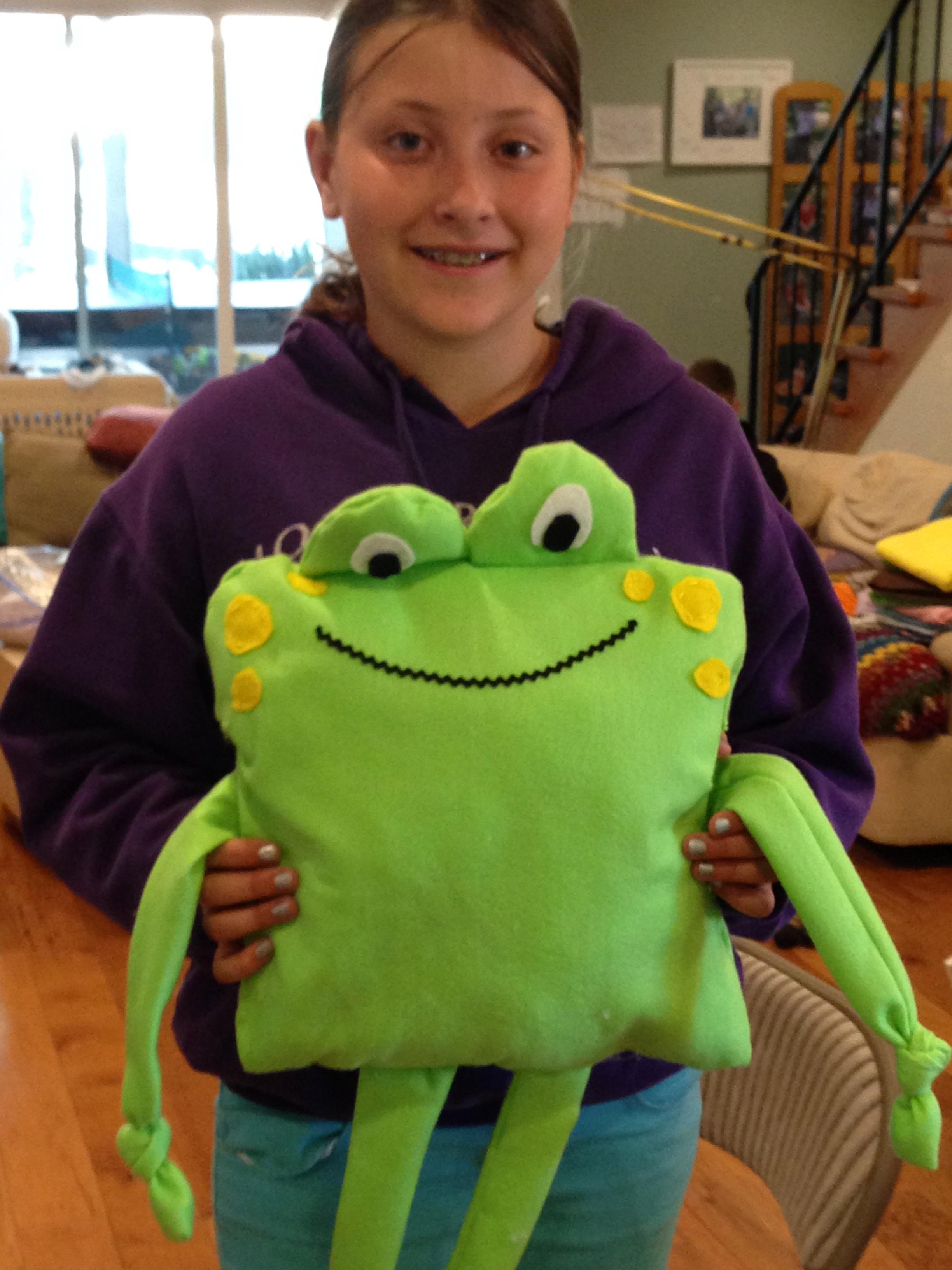 5th grade frog.