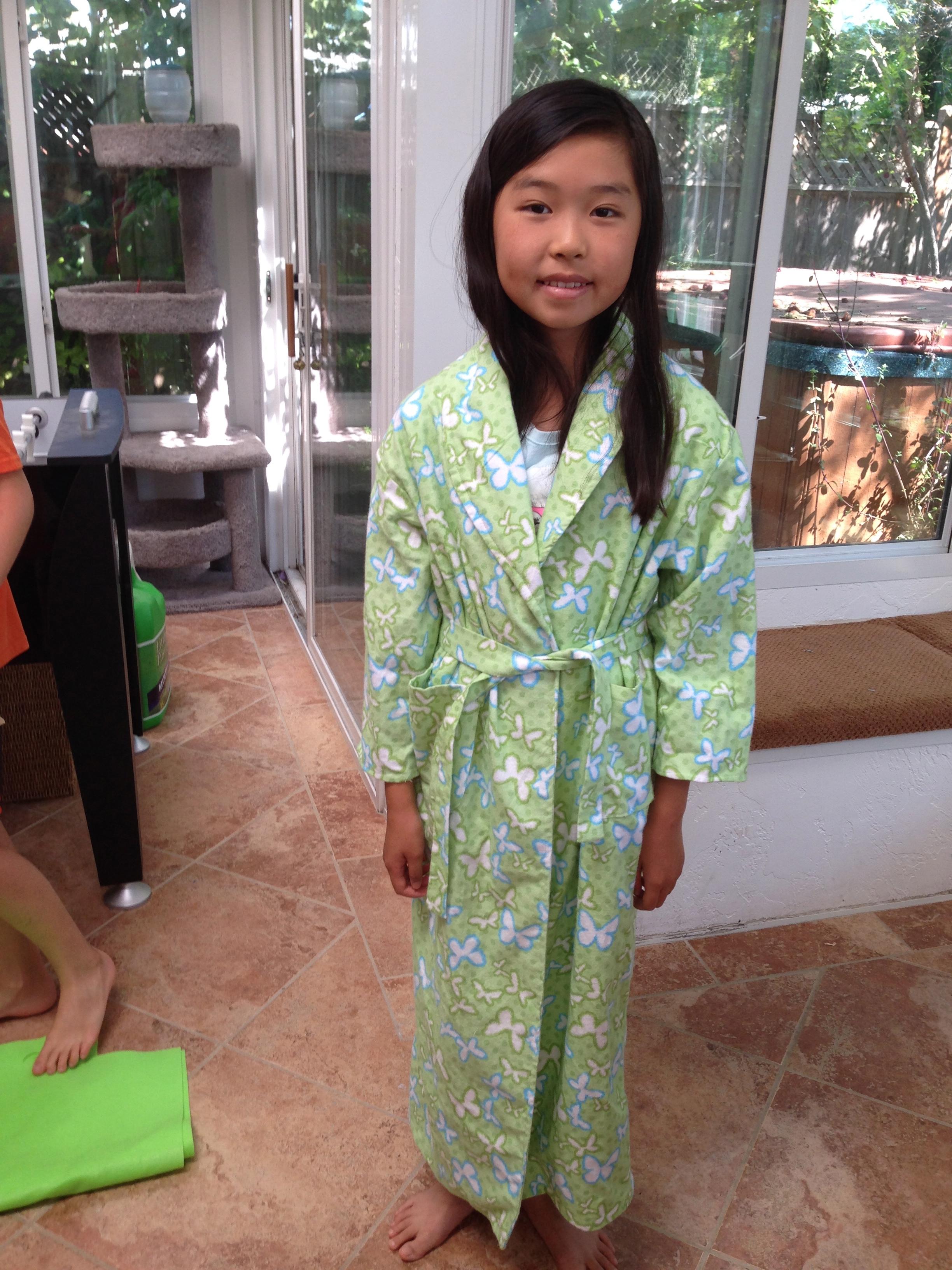 7th grader Robe