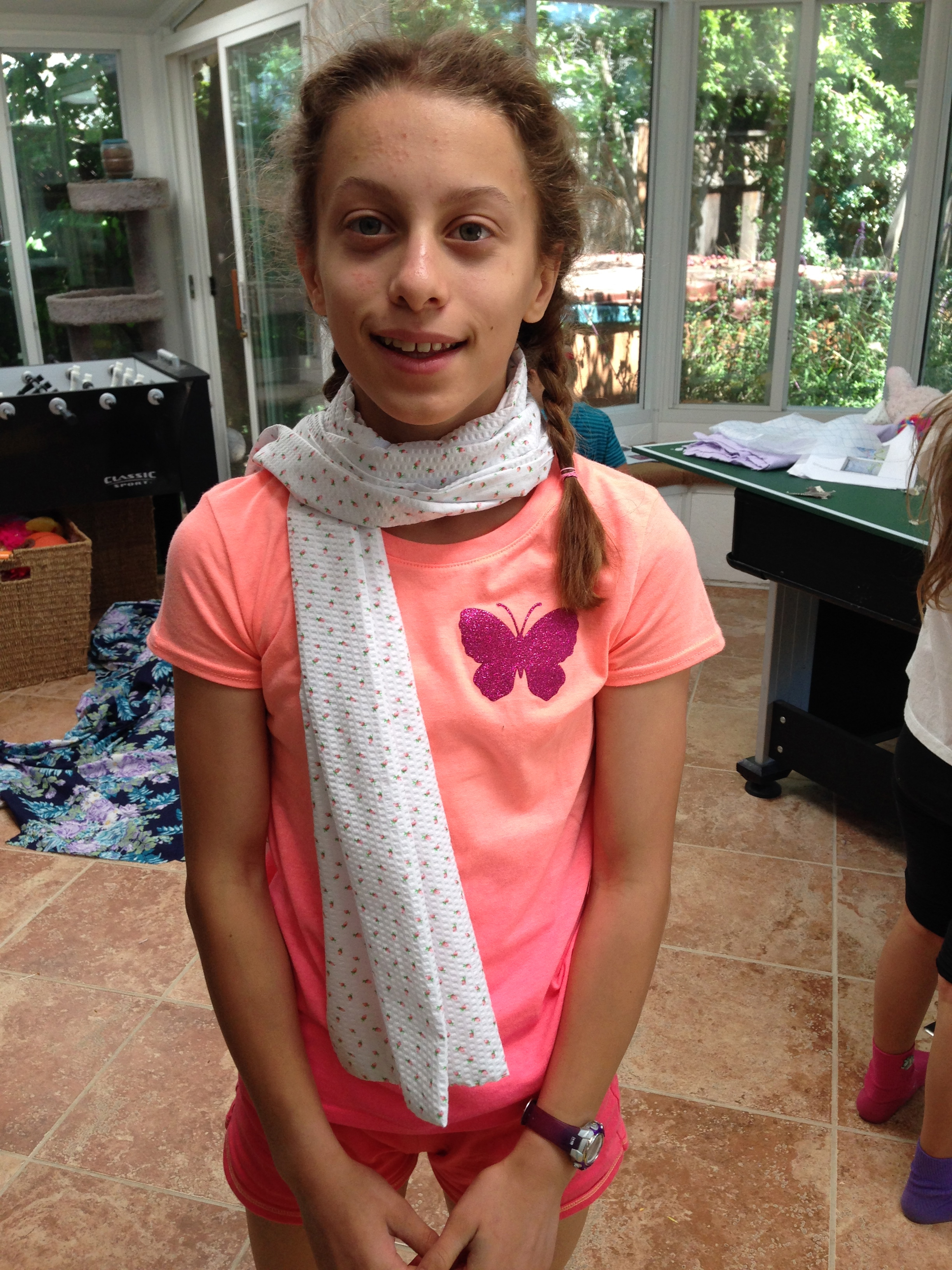 7th grader Summer Scarf
