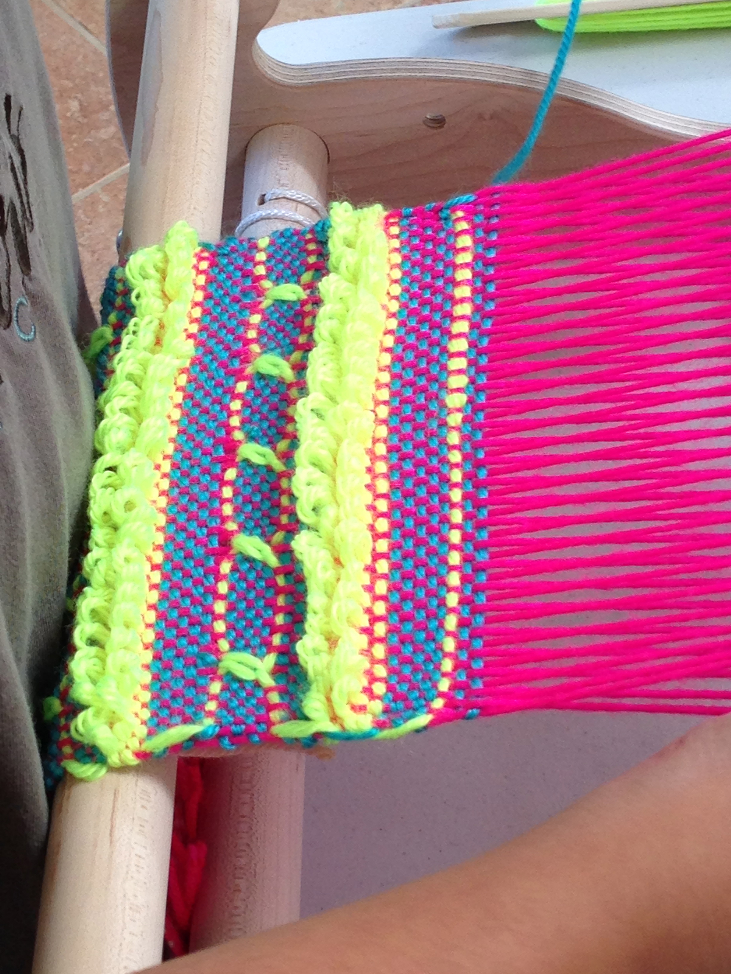 4th grade weaving