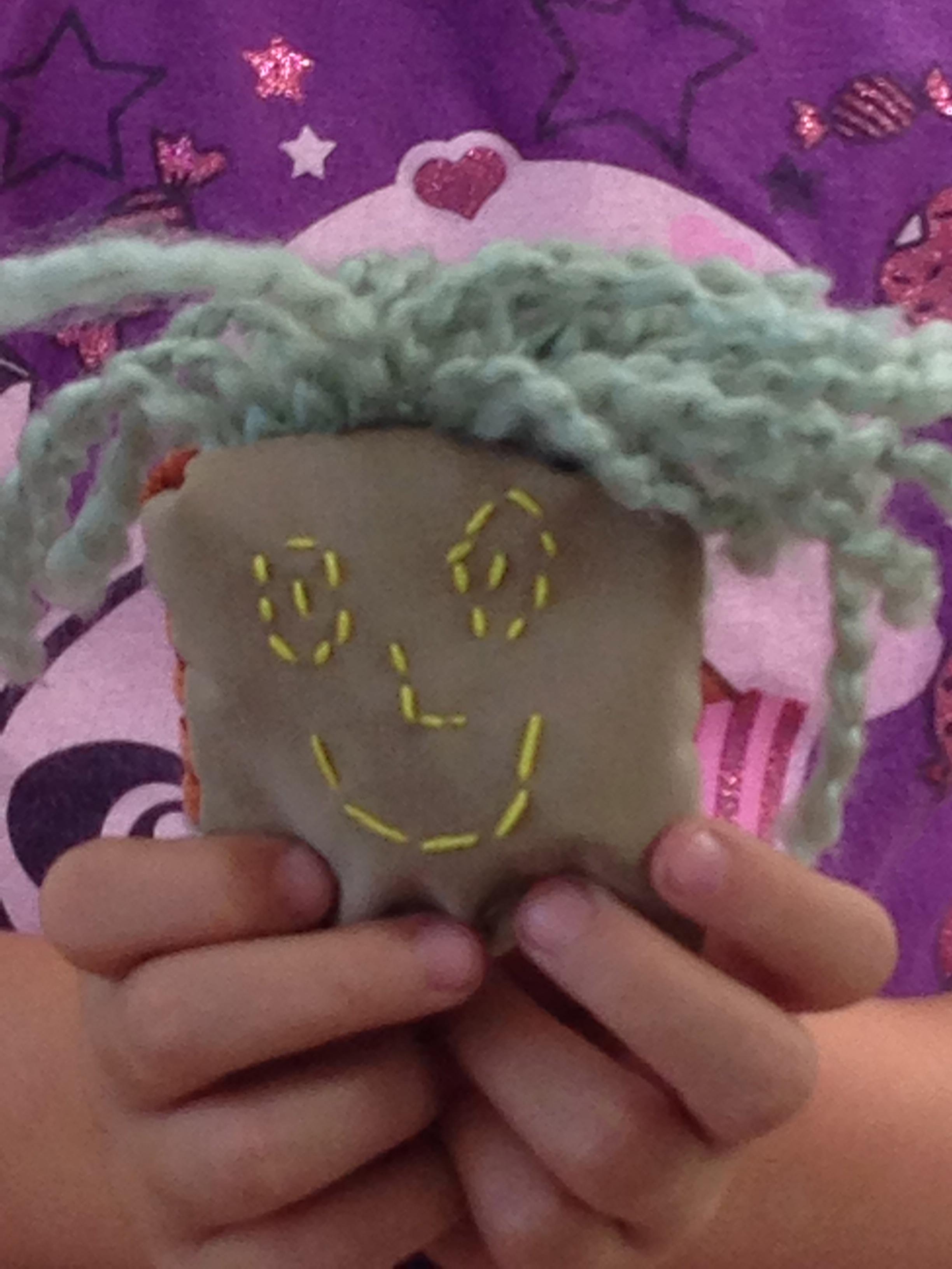 3rd grader bean bag.