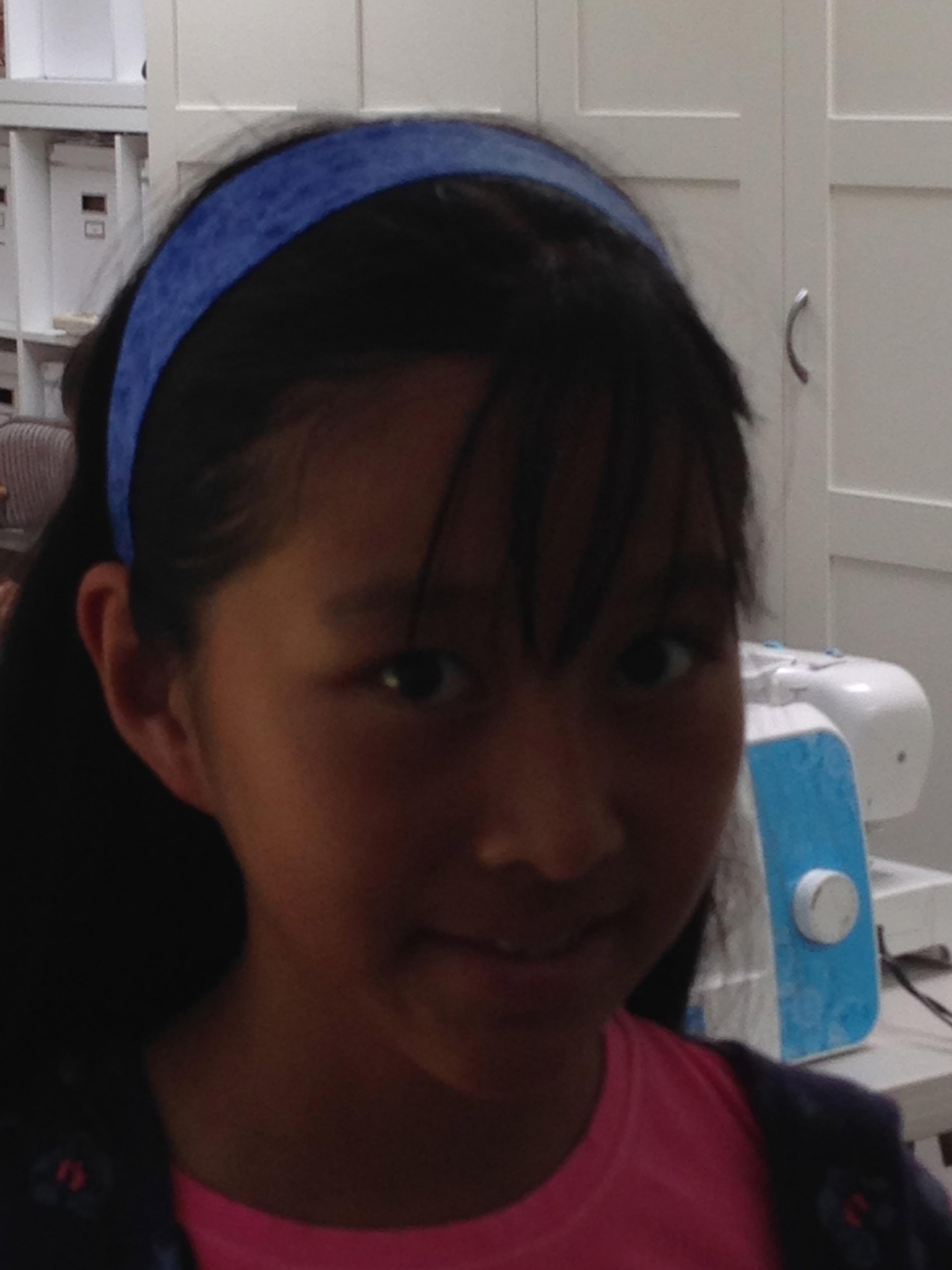7th grader headband.