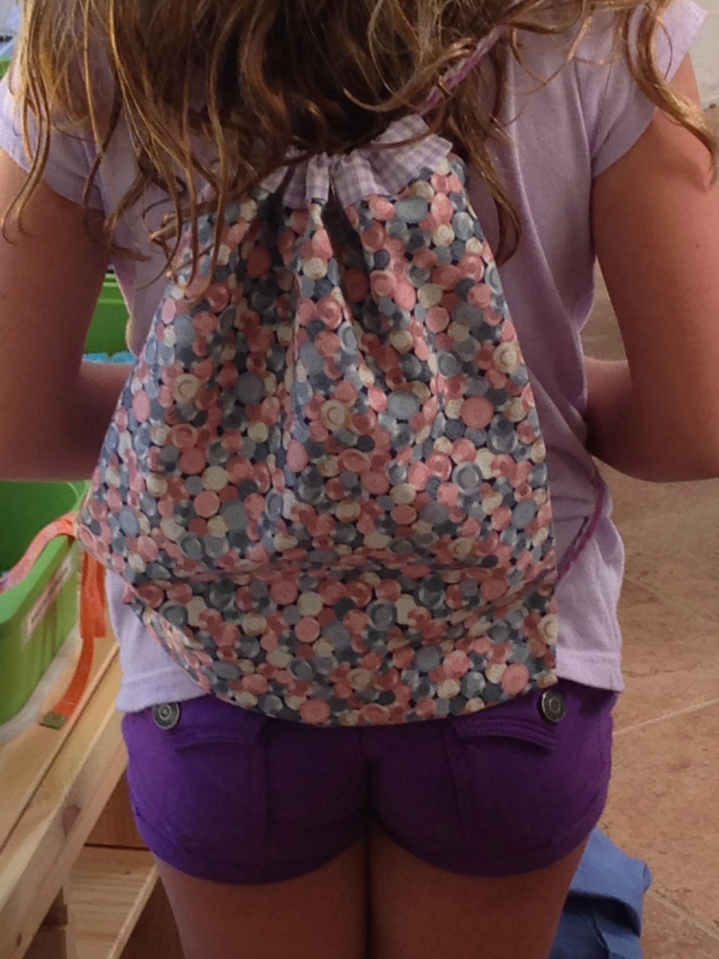 3rd grader back pack.