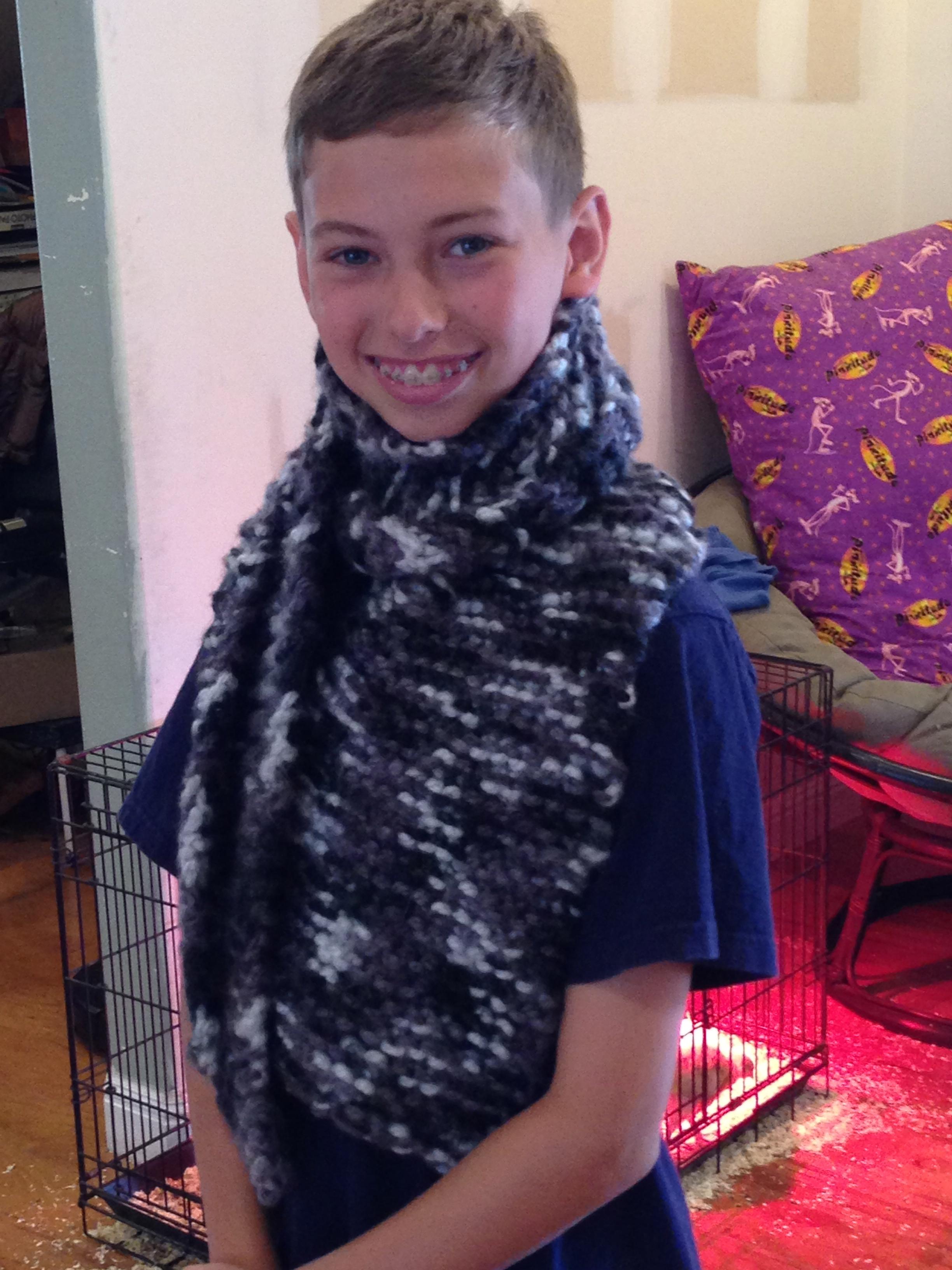 9th grade scarf.