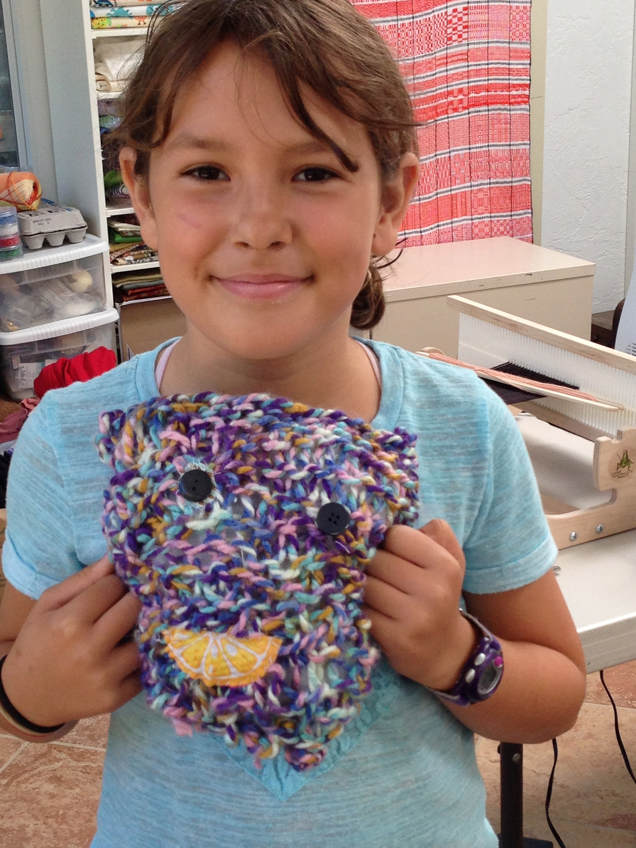 4th grade stuffed monster.