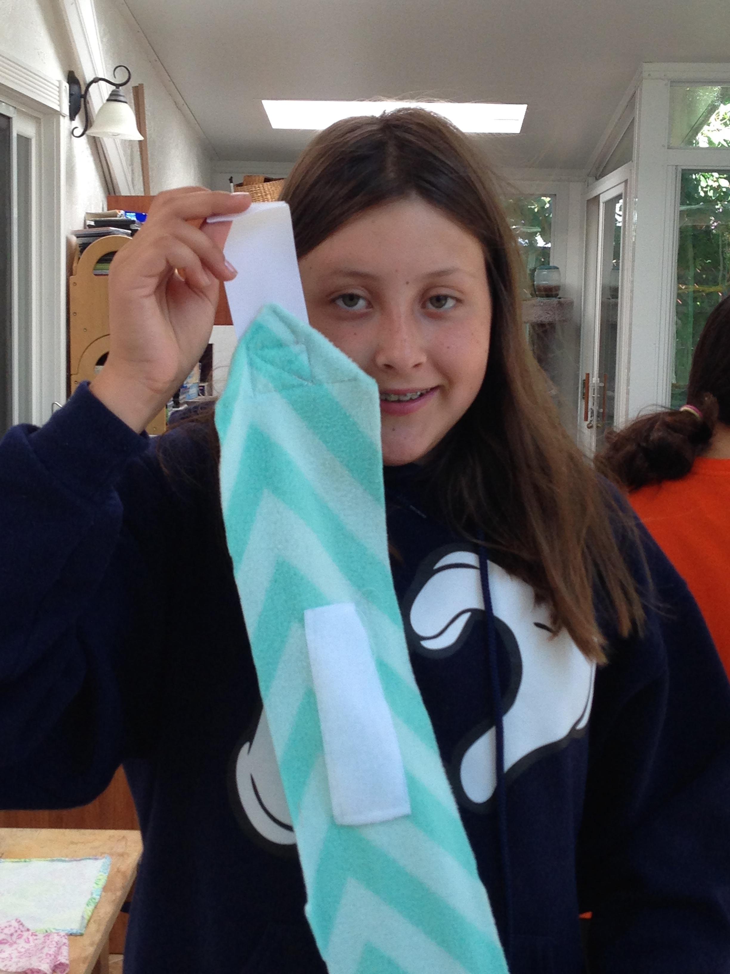 5th grader polo wrap.