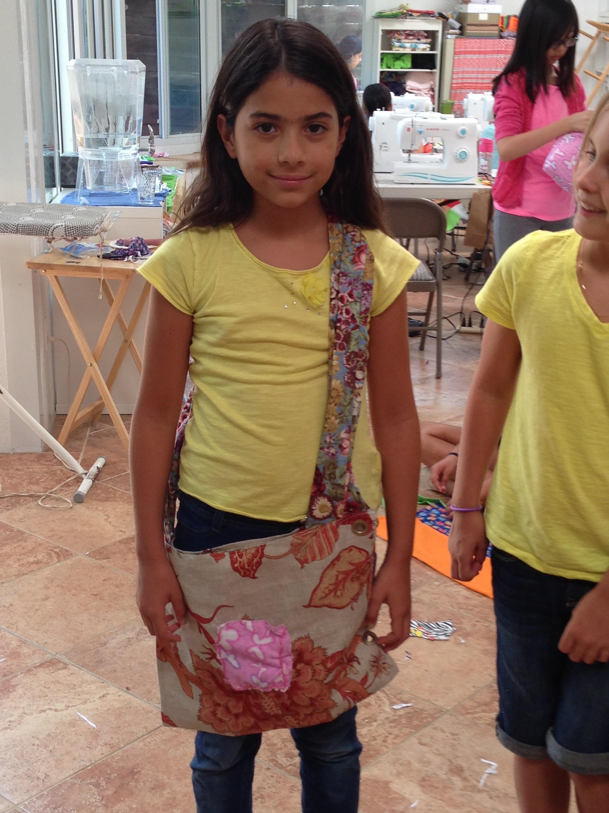 4th grader designed bag.