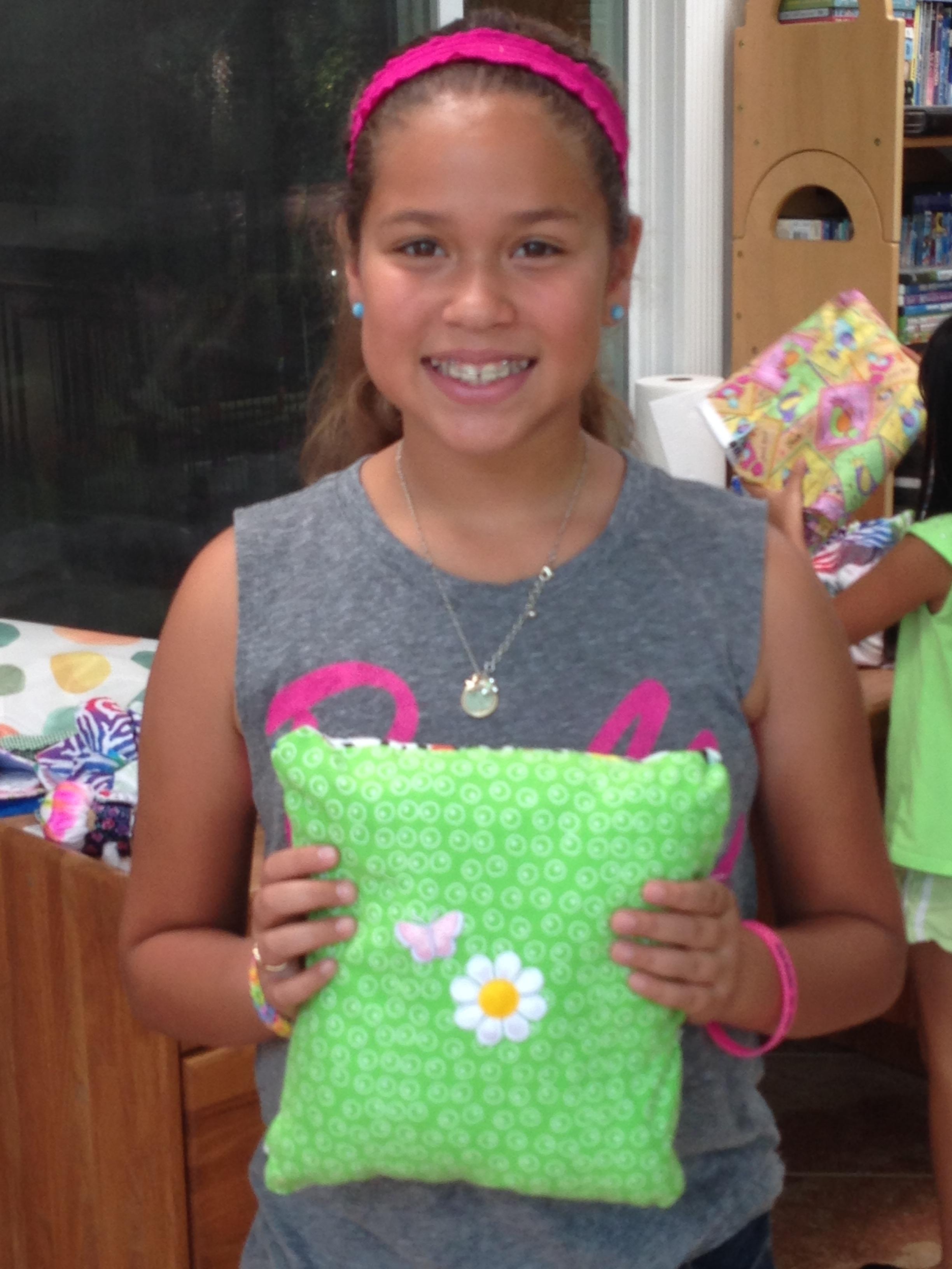 5th grader pillow.