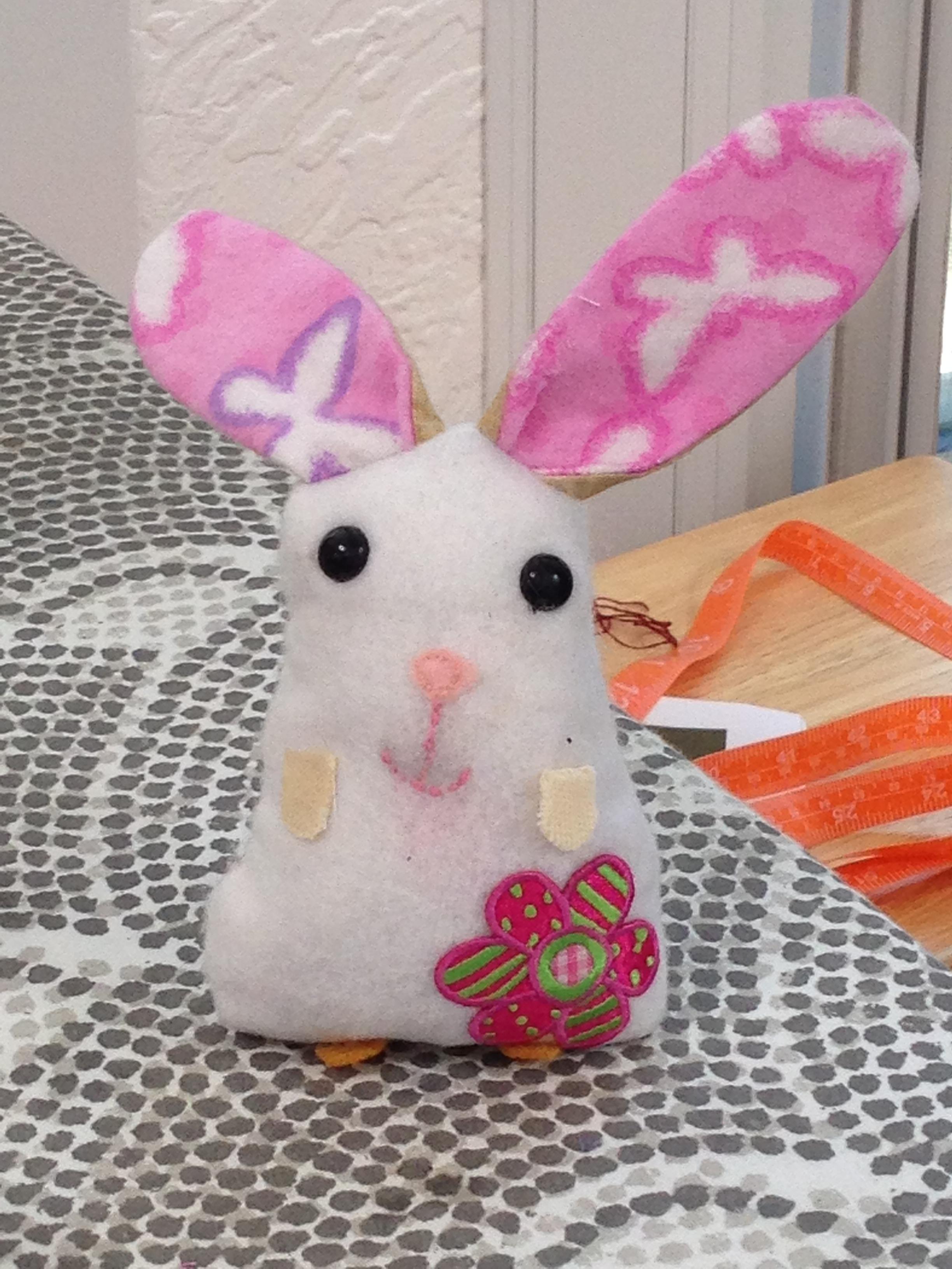 4th grader mini bunny (palm sized)