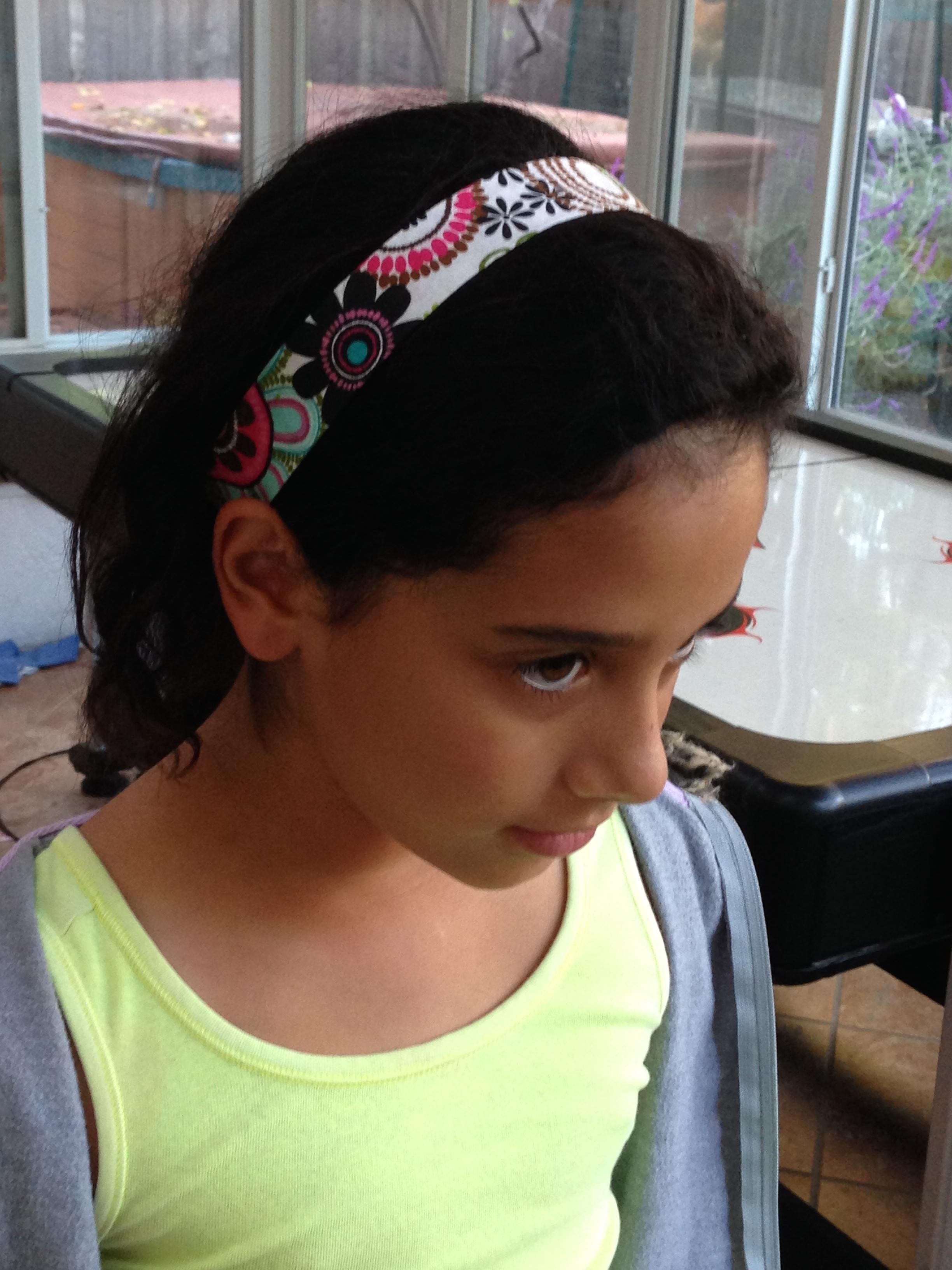 Student created headband.