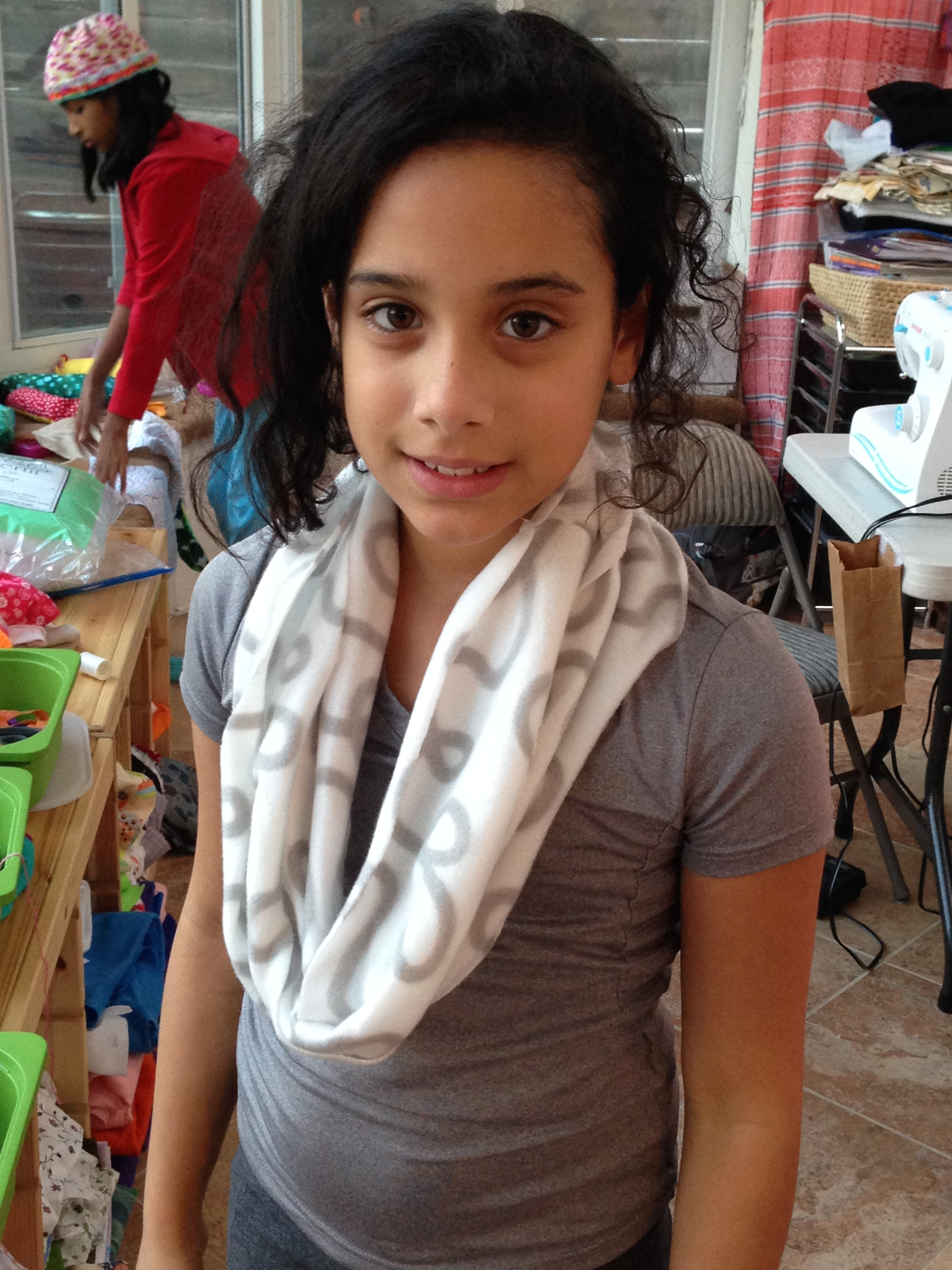 4th grade infinity scarf.