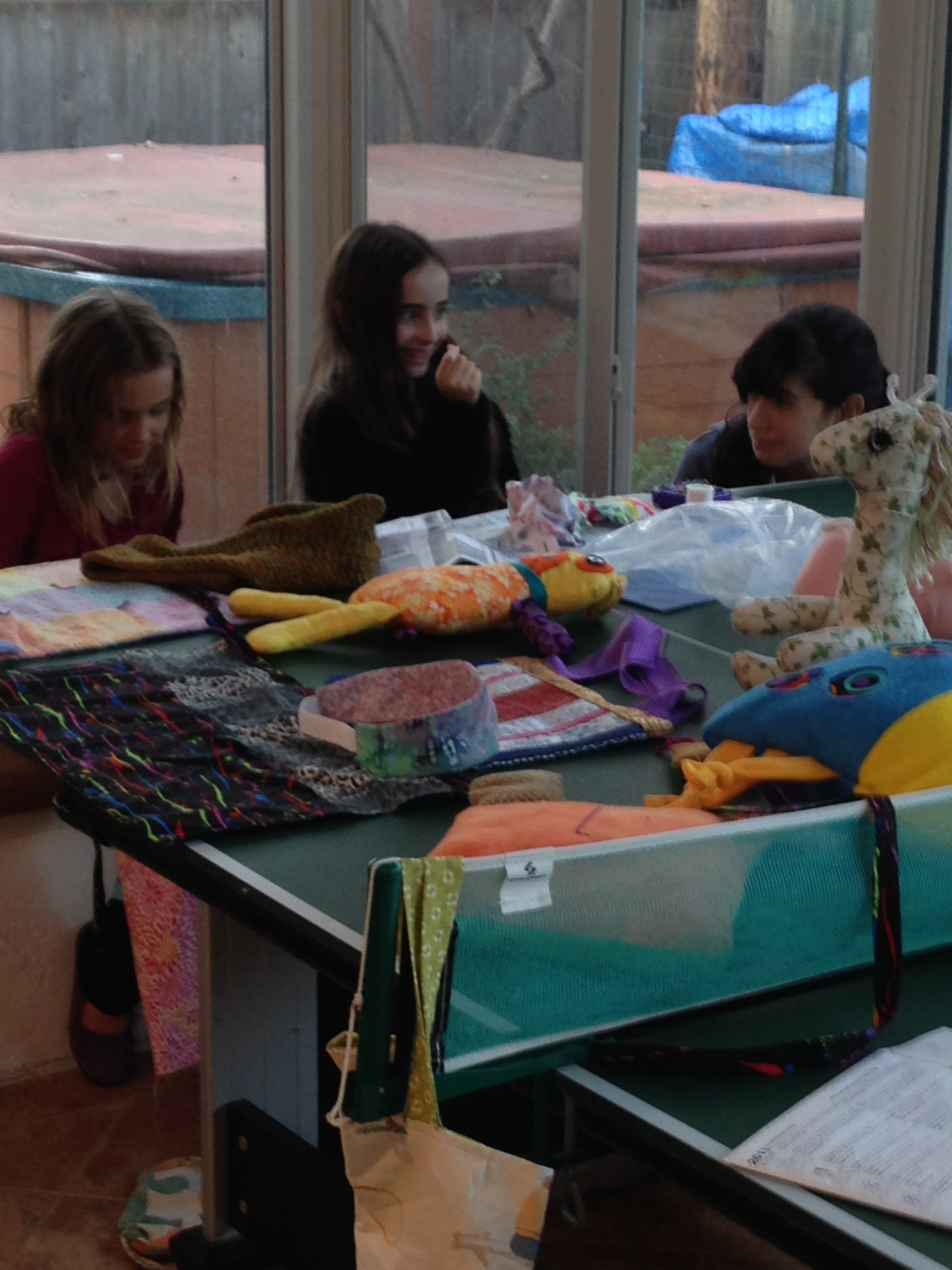 Another sewing and chatting group.