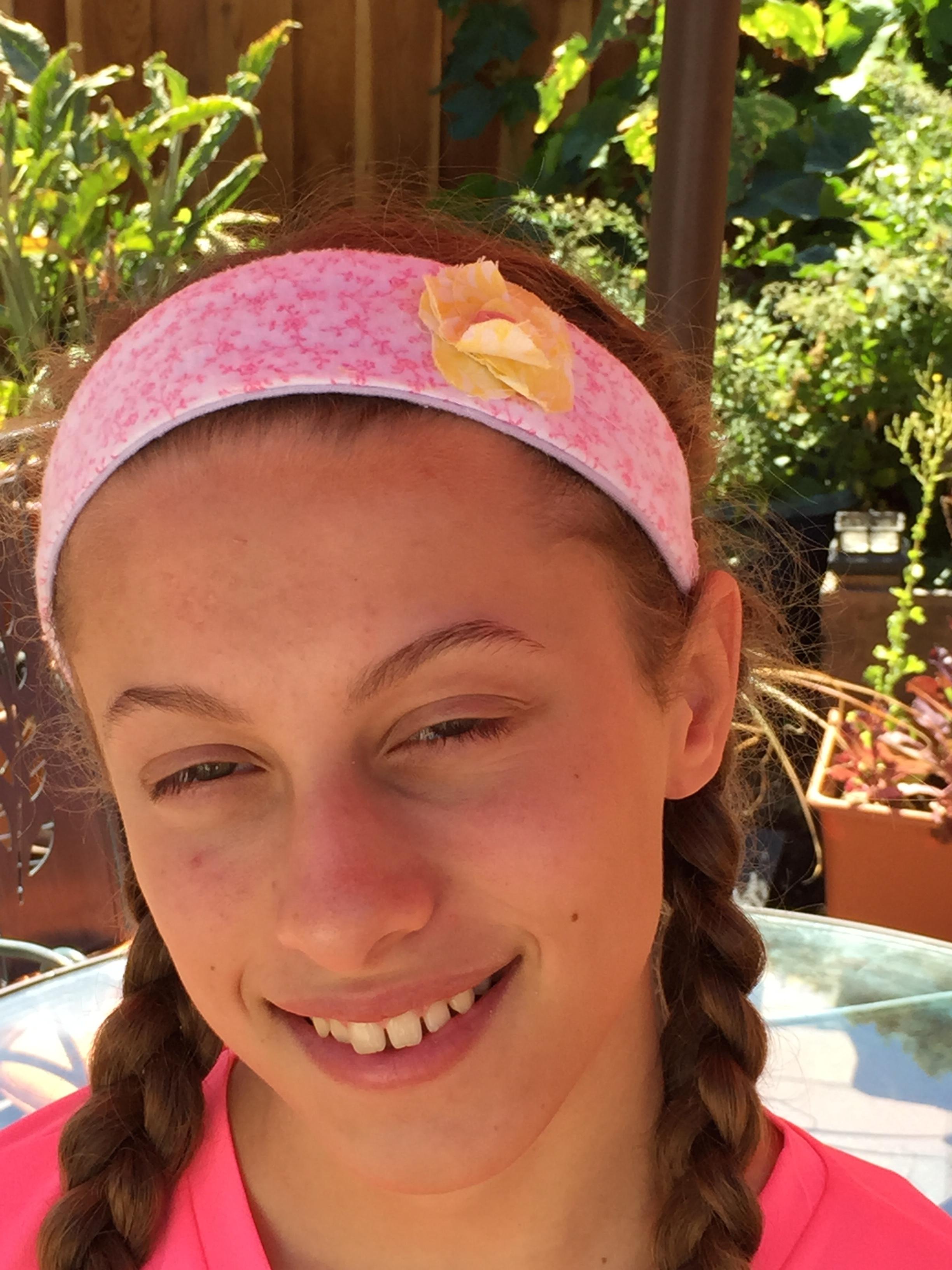 8th grader headband.