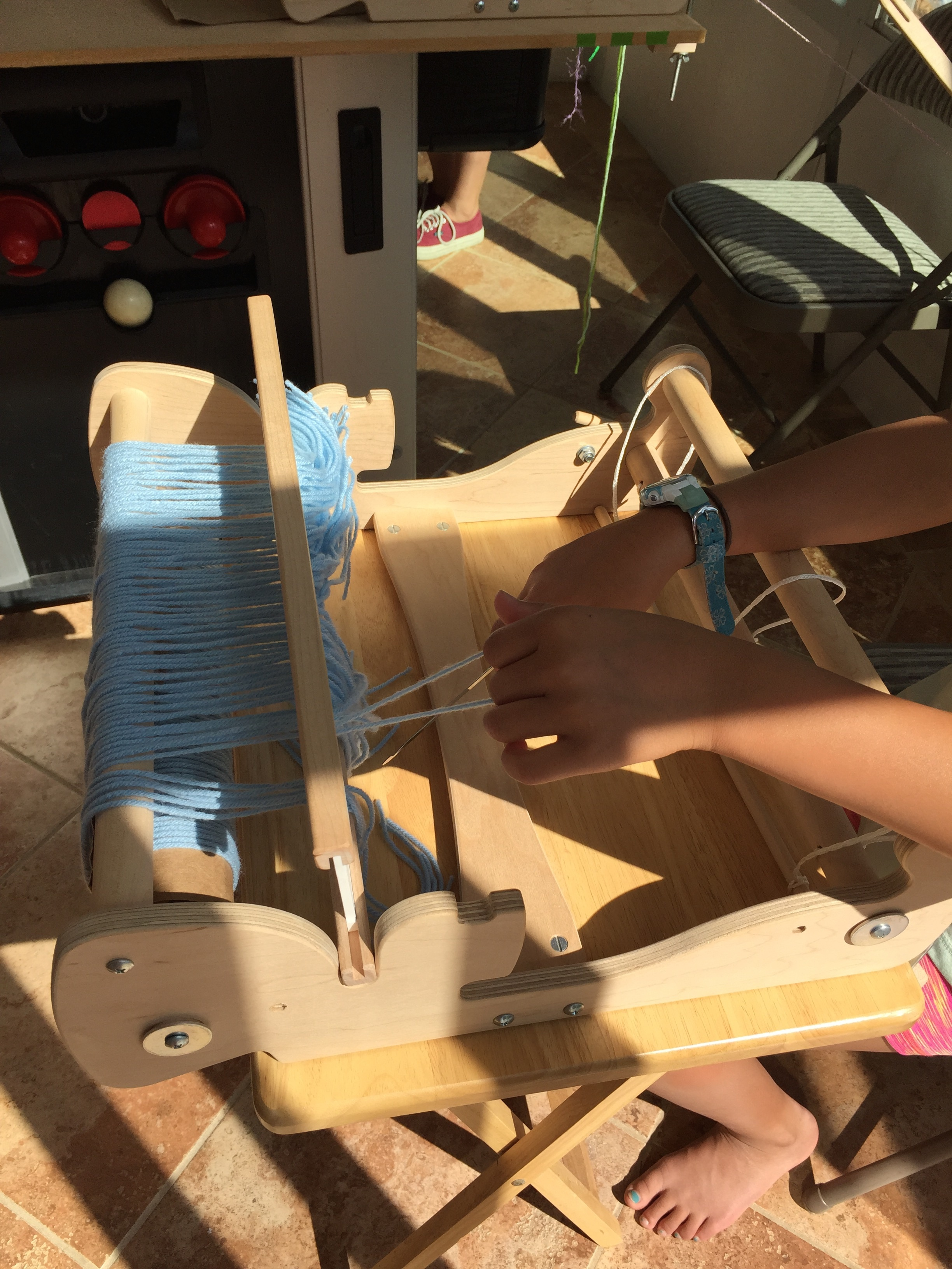 Warping a new project.