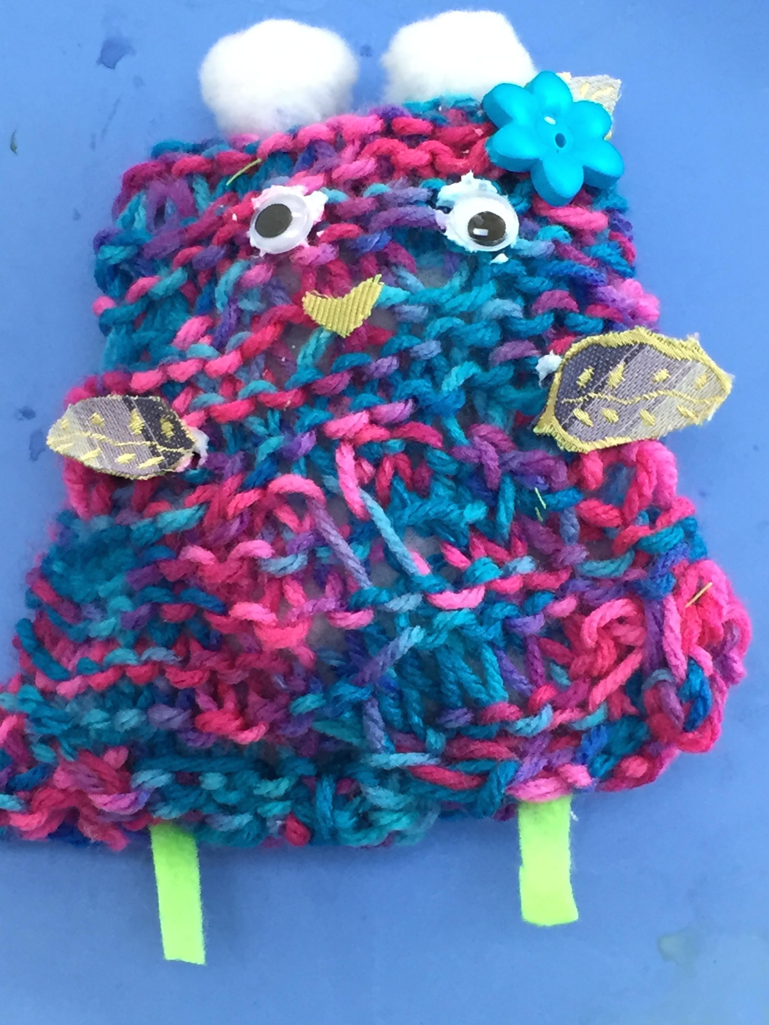 Monster Stuffie Closeup.