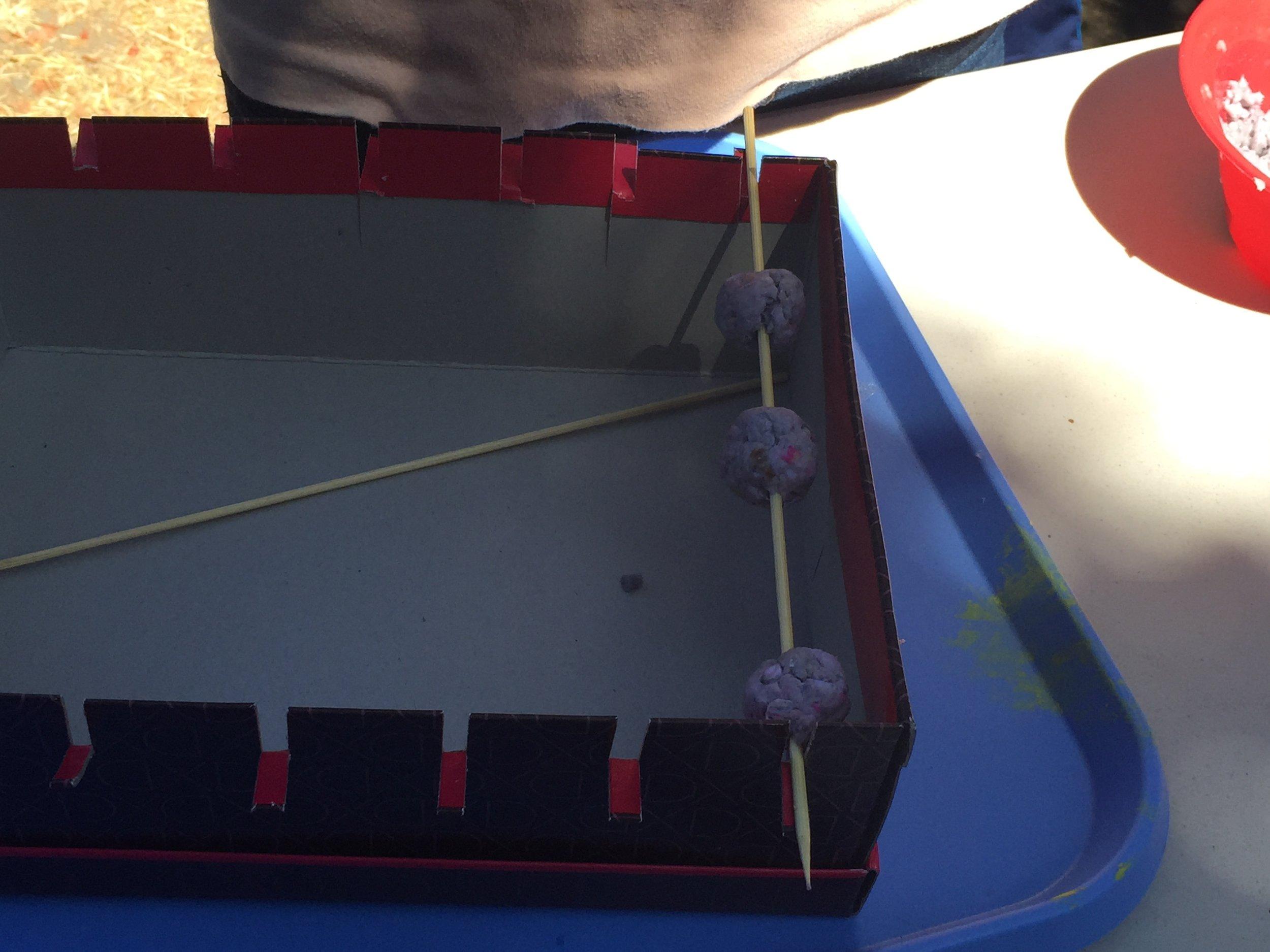 Handmade beads.