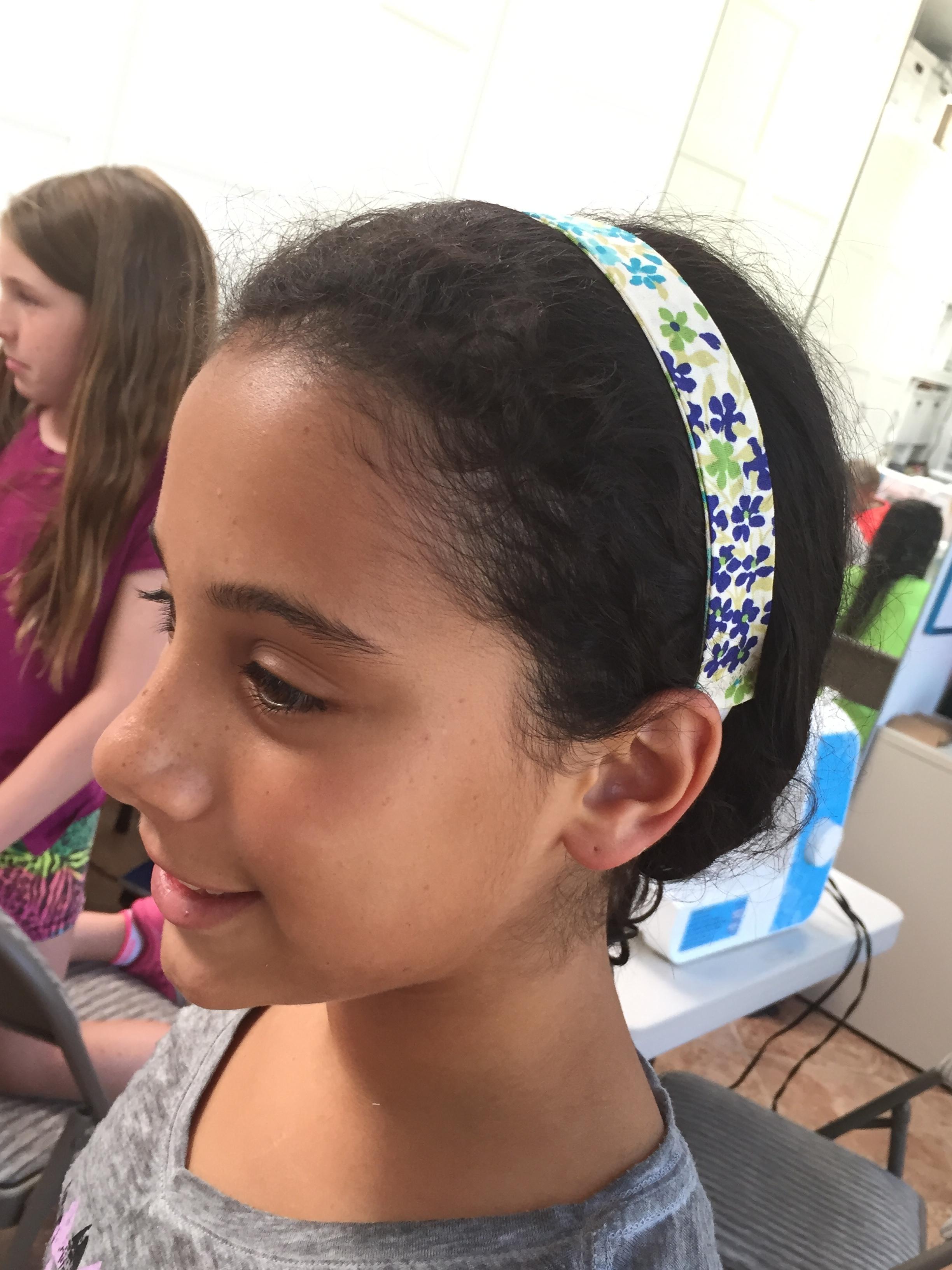 5th grader headband.