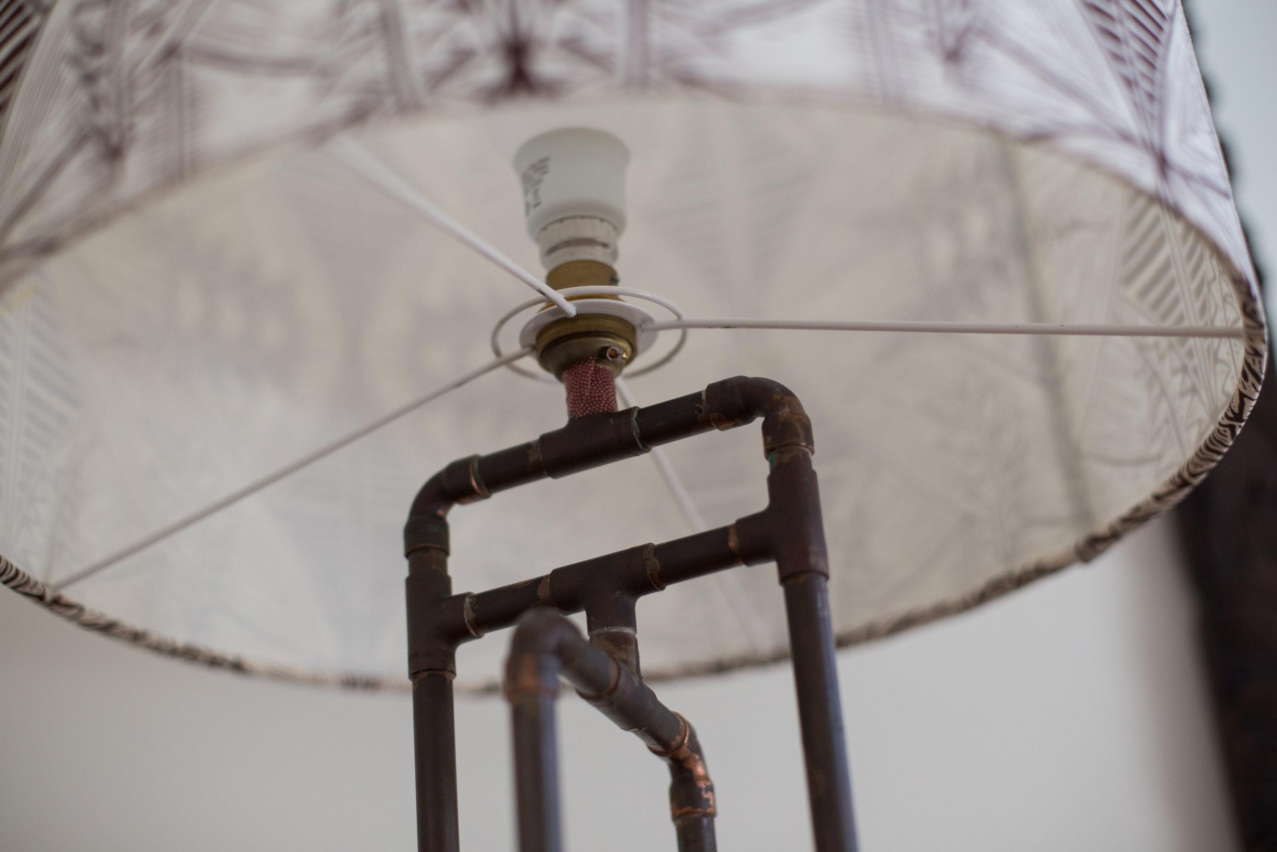 copper-lamp-base
