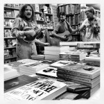 Kidnap Alice bluegrass band playing a free gig in Charlie Byrne's Bookshop