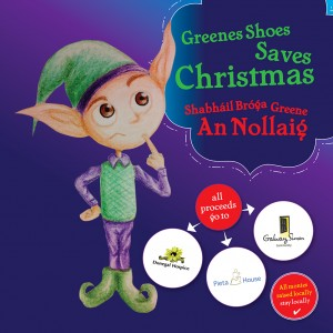 Greenes Shoes Save Christmas will be launched in Charlie Byrne's Bookshop