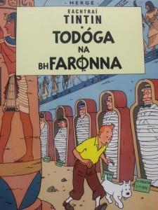 Eachtraí TinTin - Todóga na bhFaronna le Herge