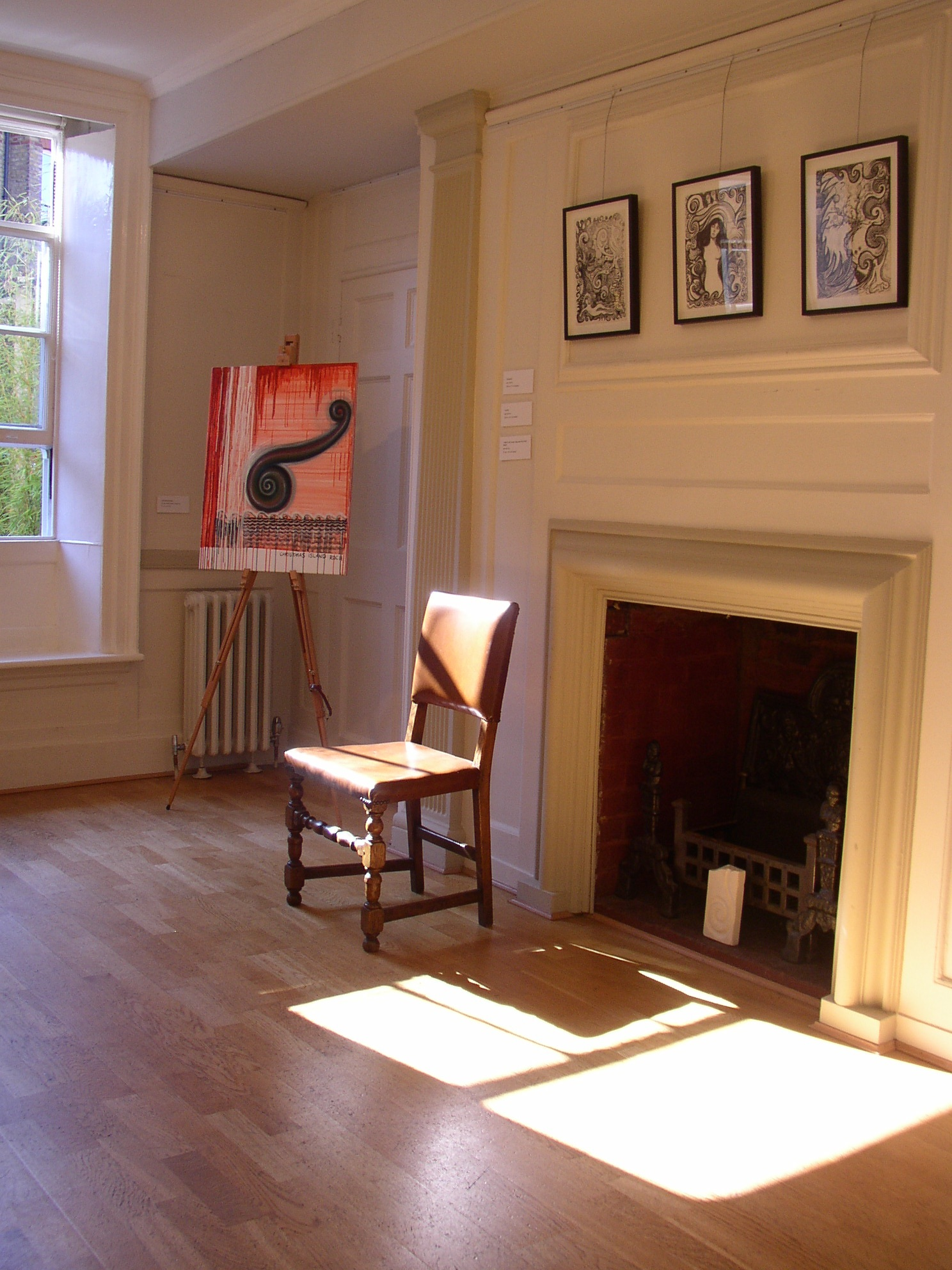 Regan O'Callaghan Burgh House, Hampstead, London, gallery space, Koru, exhibition