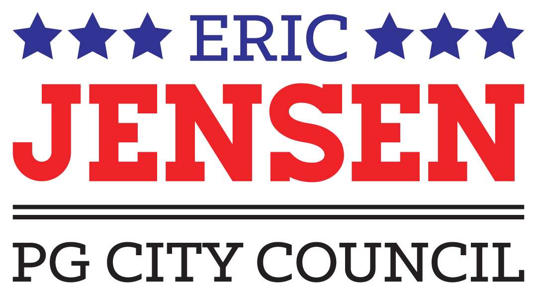 Eric Jensen for PG CIty Council