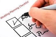 Checklist for wedding