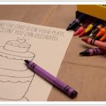 Wedding Activity Book for Children with crayons