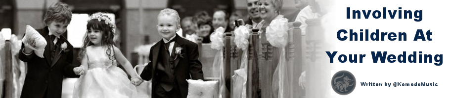 KM Blog Header- Children at weddings
