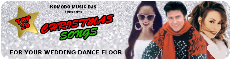 Komodo Music Banner- Wedding Dancefloor blog- Christmas