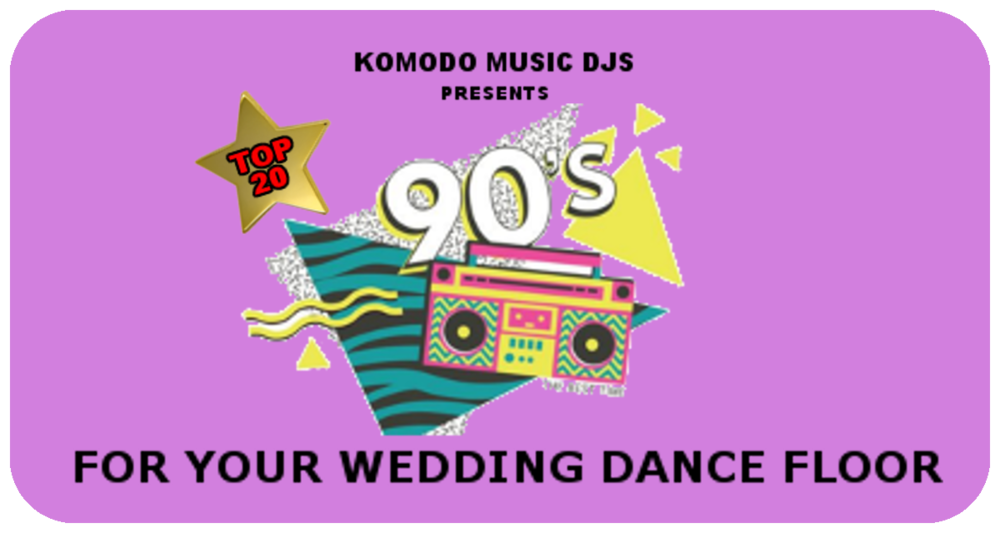 90s Wedding Songs.Top 20 Songs From The 90 S For Your Wedding Dance Floor