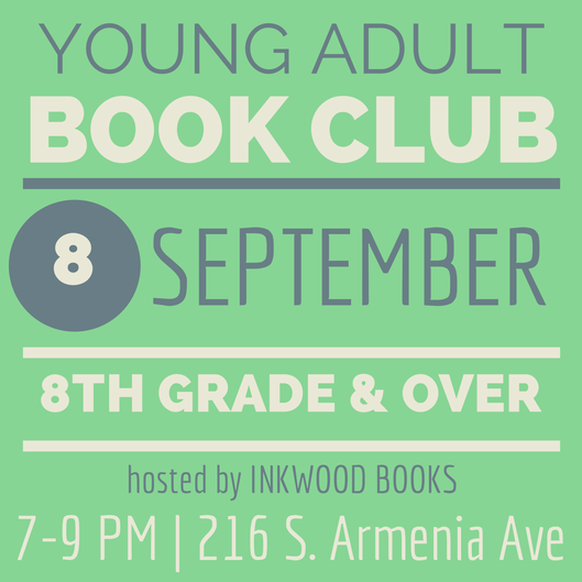 YA Book Club - September-2