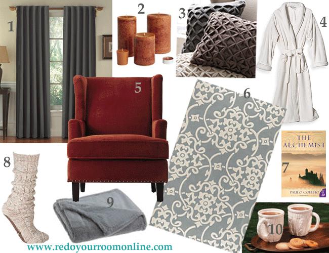 inexpensive home decor for the winter season