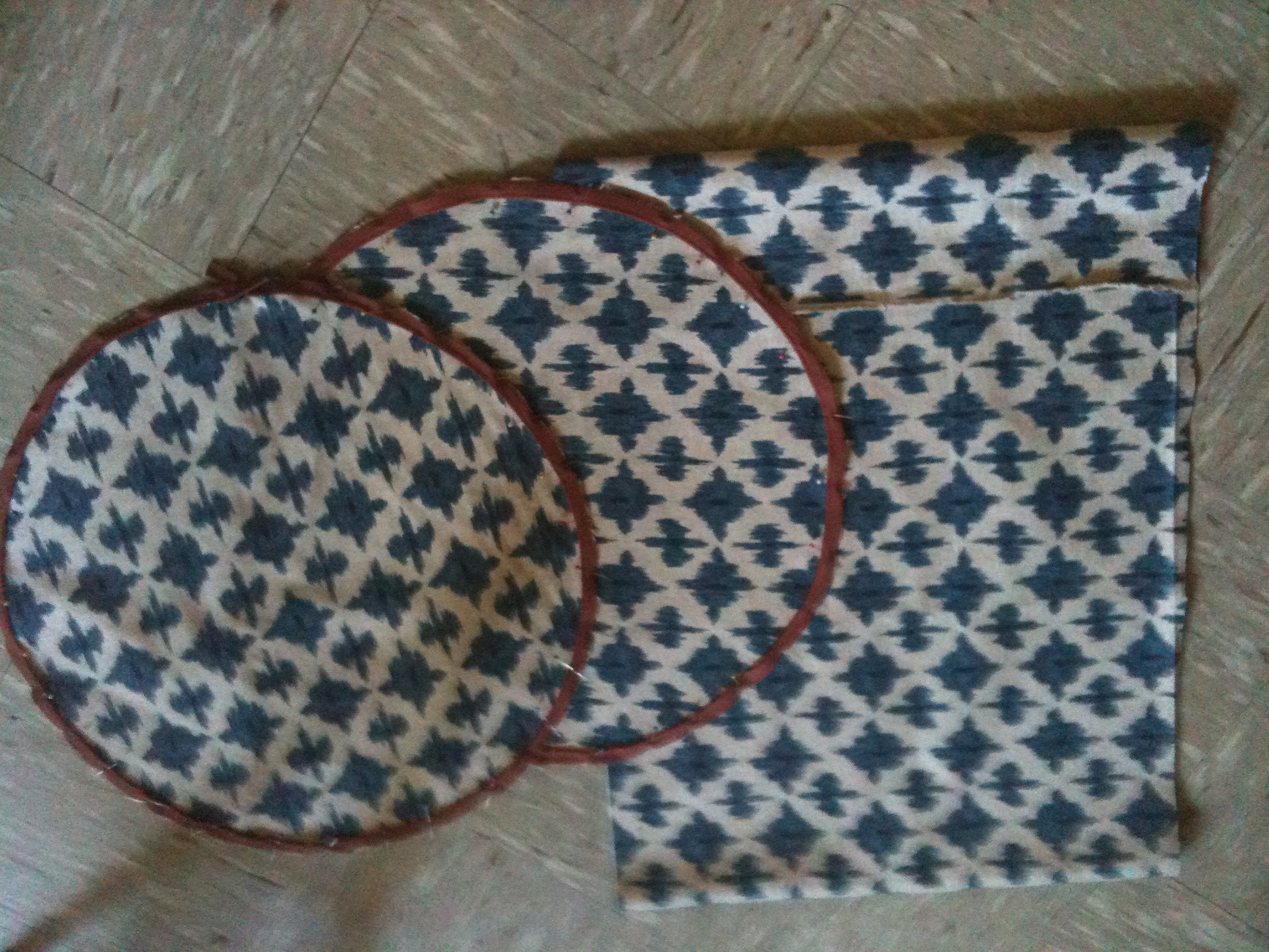 DIY Ottoman Materials