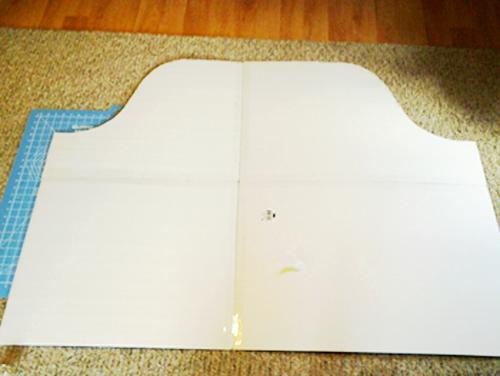 FIY-Fabric-Headboard-taped-foam-boards
