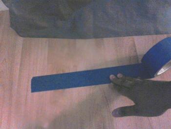 painter tape arrow no