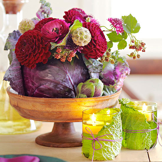 simple thanksgiving centerpieces-image1