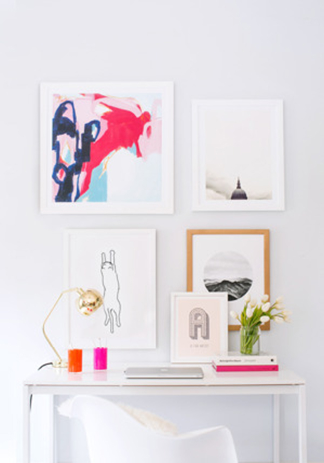 how to revamp your room-artwork