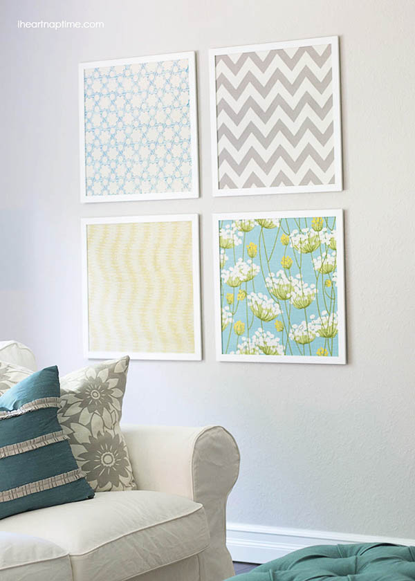 Quick and Easy DIY Wall Art Ideas