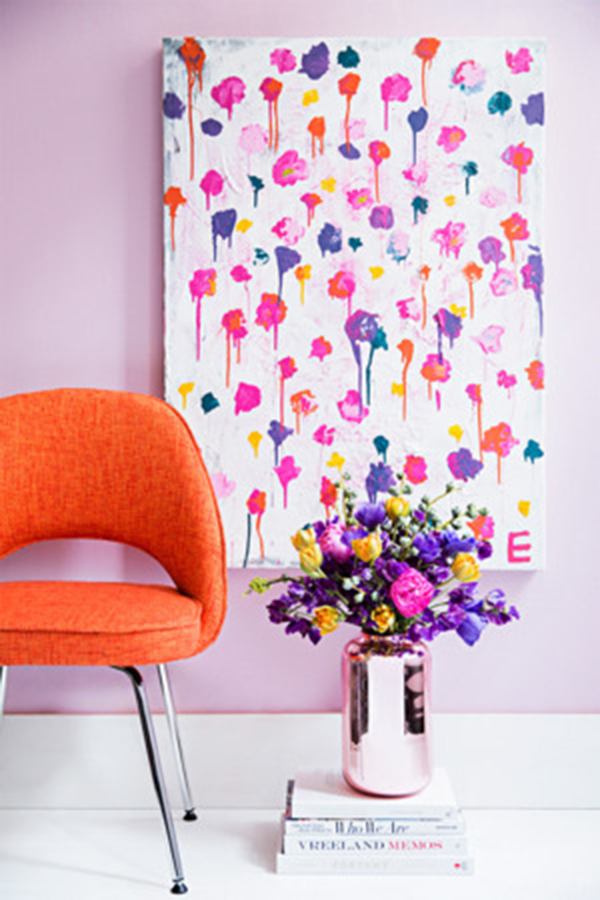 Quick and Easy DIY Wall Art Ideas-paint