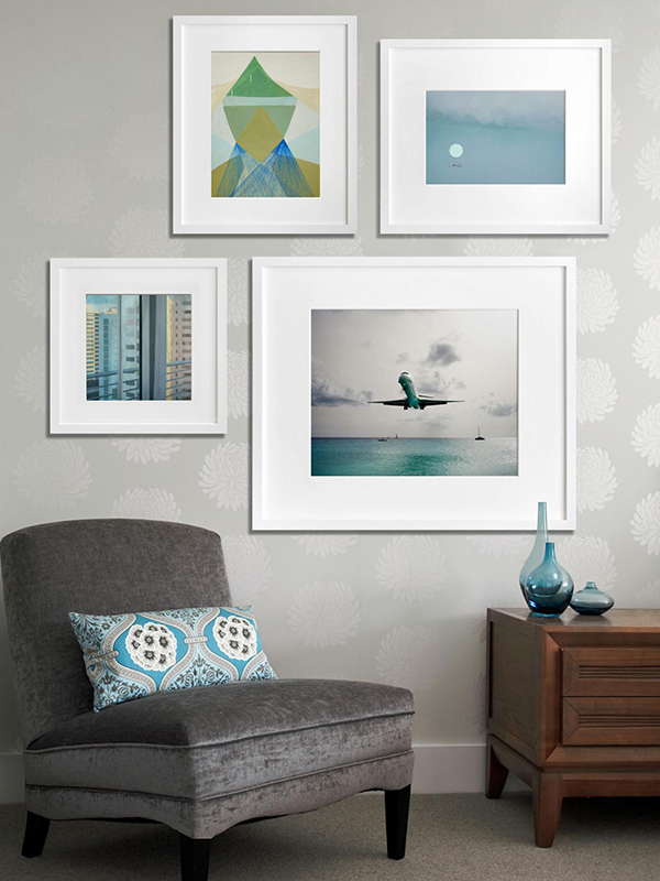 Quick and Easy DIY Wall Art Ideas -mag