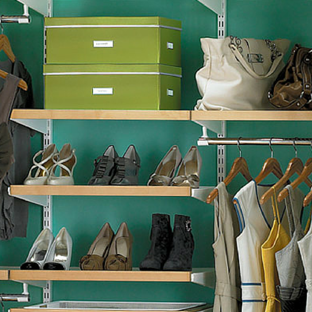 how to create a color scheme for a room - closet