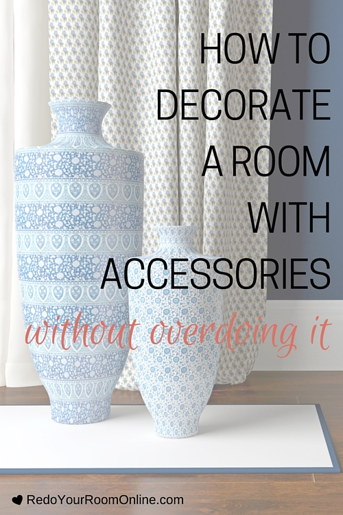 How To Decorate a Room With Accessories Without Overdoing It. There's a method to the madness when it comes to how to decorate a room with accessories. Trust me there is. Stop feeling intimidated and turn your room into a bangin space with these easy home decor tips.