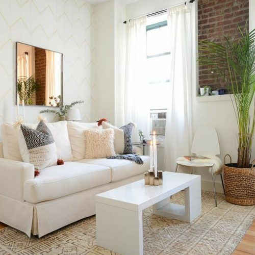 How To Select Furniture For a Small Living Room- Narrow Furniture (1)