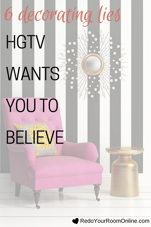Decorating Lies HGTV Wants You To Believe