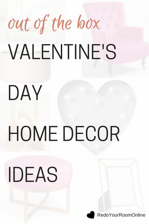 Out Of The Box Valentine's Day Home Decor Ideas. Click through to see the home decor items that will make your valentine's day extra special.