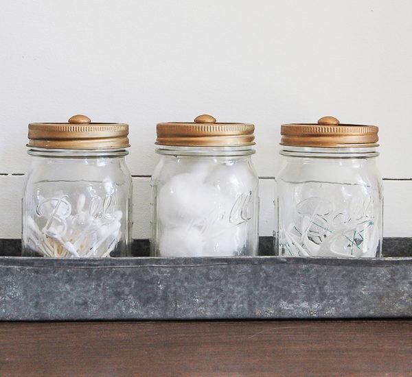 Easy Ways To Use Mason Jars To Organize