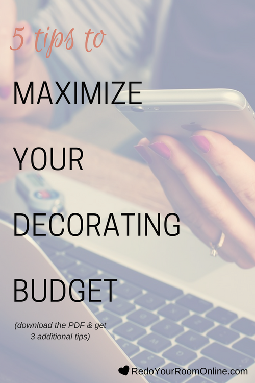 Maximize Your Decorating Budget: It can be so exciting to start on the journey of decorating your room, but before you go dunking in head first, I want to make sure that you are all schooled with the 411 on budgeting. Decorating is not cheap, but that doesn't mean that you can't maximize your decorating budget to the fullest because at the end of the day, you're my girl and I take care of my people. Click through to read the interior design tips.